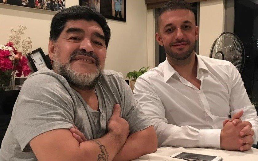 Por decisión del club Maradona no seguirá en Al Fujairah