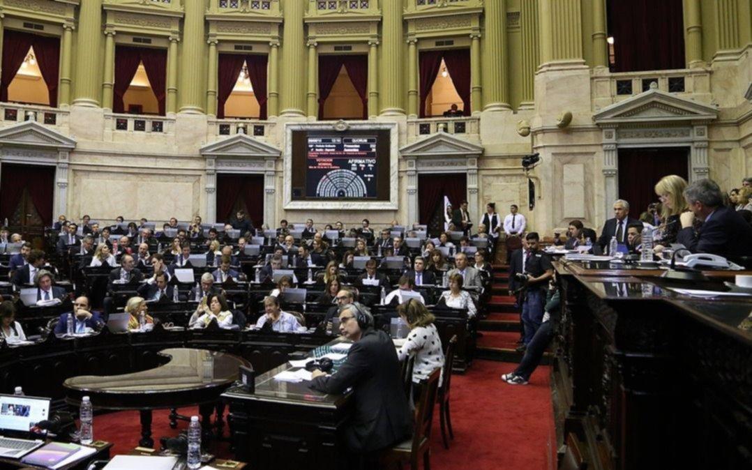 Diputados votan el proyecto