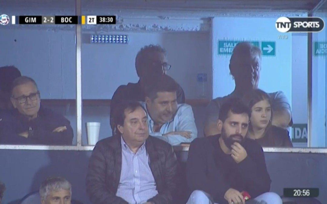 La celebración de Diego Maradona por el título del 'Xeneize — Boca Juniors