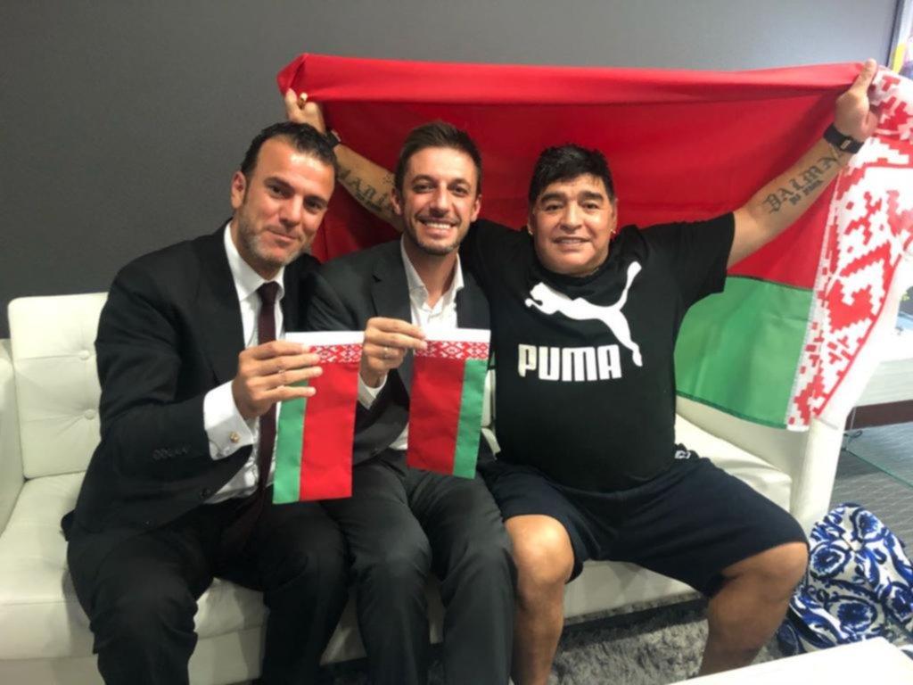 Se siente, se siente, Maradona presidente