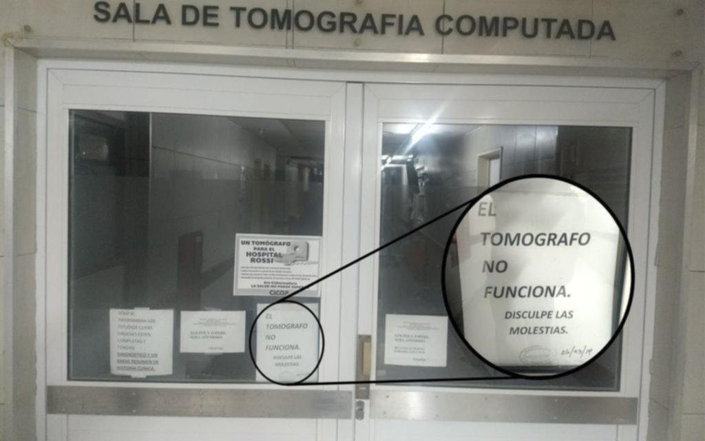 Preocupa el estado de los tomógrafos de los hospitales públicos: ahora le tocó al Rossi