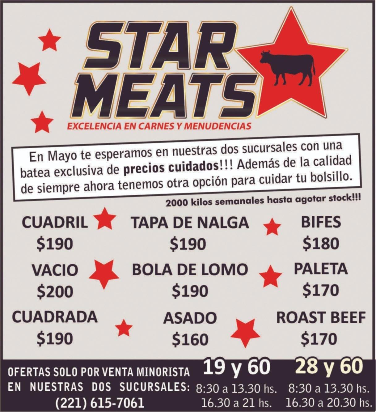 Star Meats, excelencia en carnes y menudencias