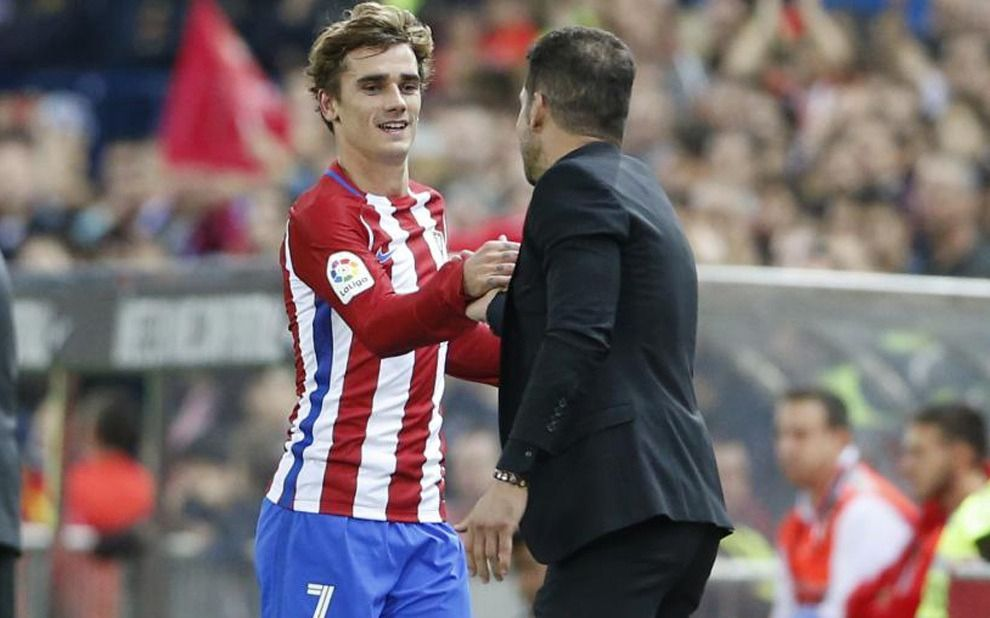 Griezmann le dice adiós al Atlético de Madrid de Simeone
