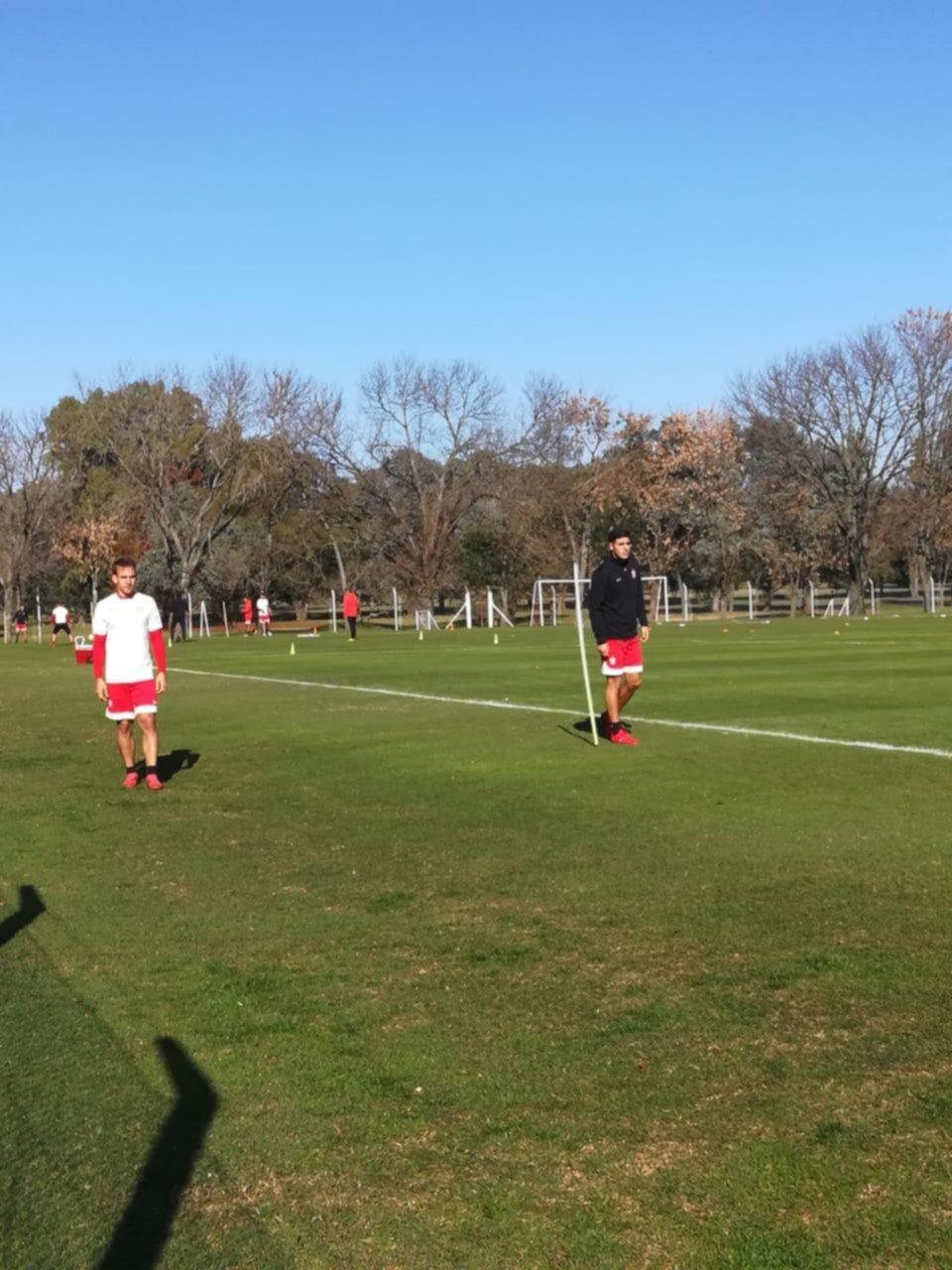 Gil Romero y Apaolaza se entrenaron en el Country