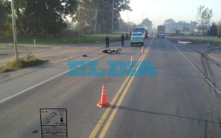 Un motociclista hospitalizado tras nuevo  accidente en la ruta 36