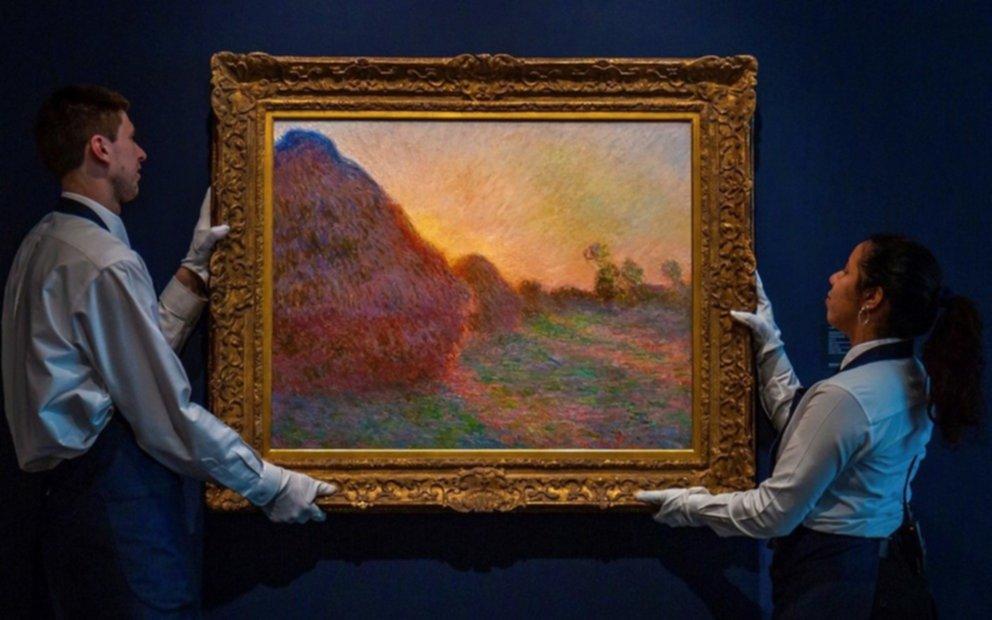 Subastaron en 110,7 millones de dólares una obra de Claude Monet