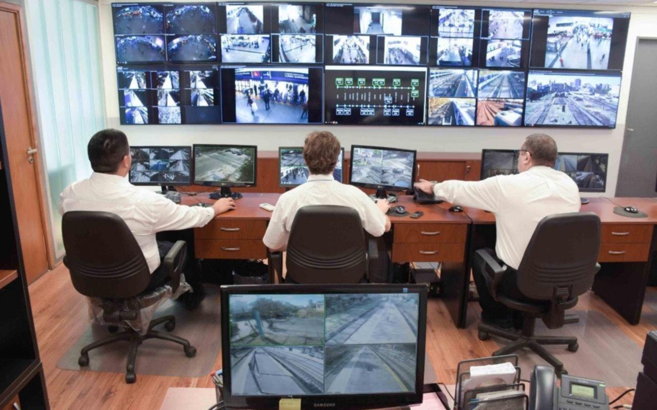 Instalaron 462 cámaras de seguridad para monitorear la seguridad del tren Roca