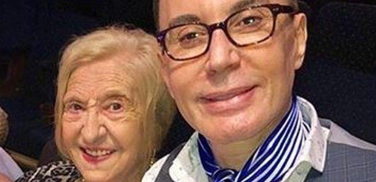 El duro momento de Polino: murió Ethel, su mamá