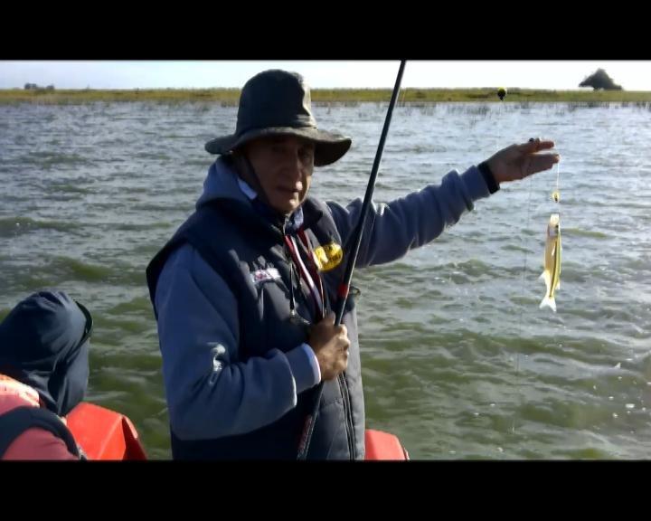 Laguna Adela, lugar cercano a La Plata para pescar pejerreyes
