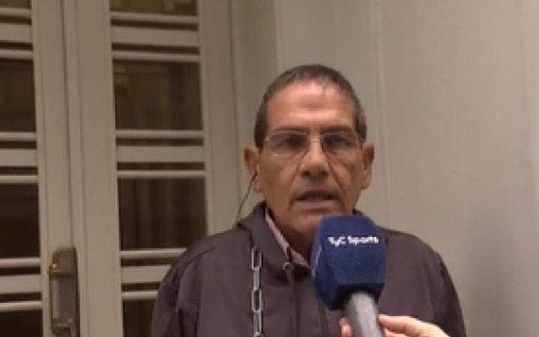 El vicepresidente del próximo rival albirrojo, encadenado en AFA