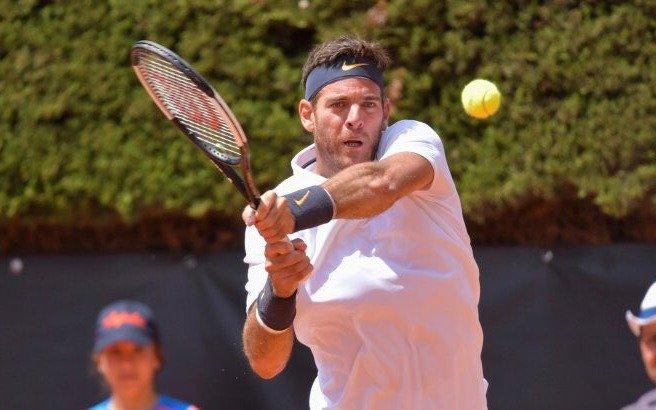 """Del Potro tuvo dos """"match points"""", no concretó y quedó eliminado del Masters 1000 de Roma"""