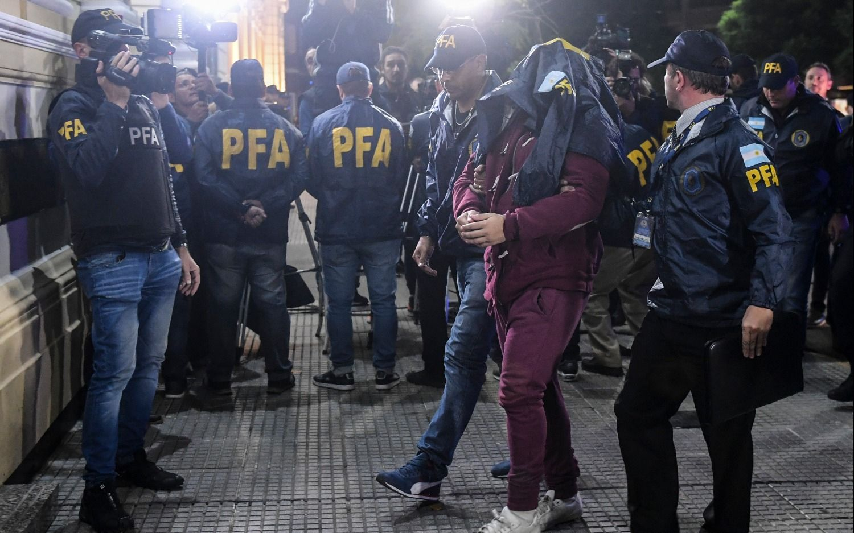 Navarro Cádiz llegó al país extraditado desde Uruguay y hay un nuevo detenido en la causa