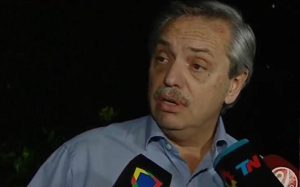 """Alberto Fernández: """"Las circunstancias hicieron que yo termine acá"""""""
