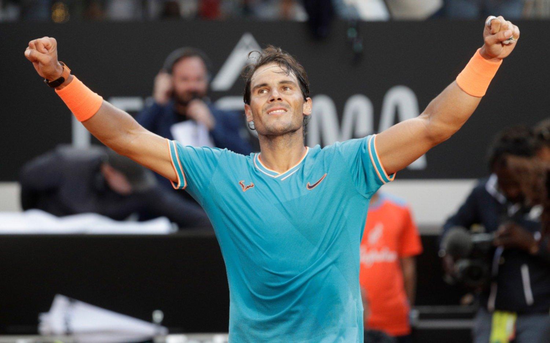 Nadal se impuso a Djokovic y se coronó  por novena vez en el Masters de Roma