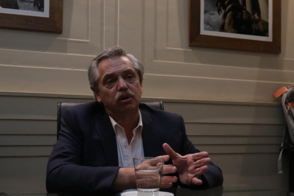 """""""Ni yo soy Cámpora ni Cristina es Perón"""", aseguró Alberto Fernández"""