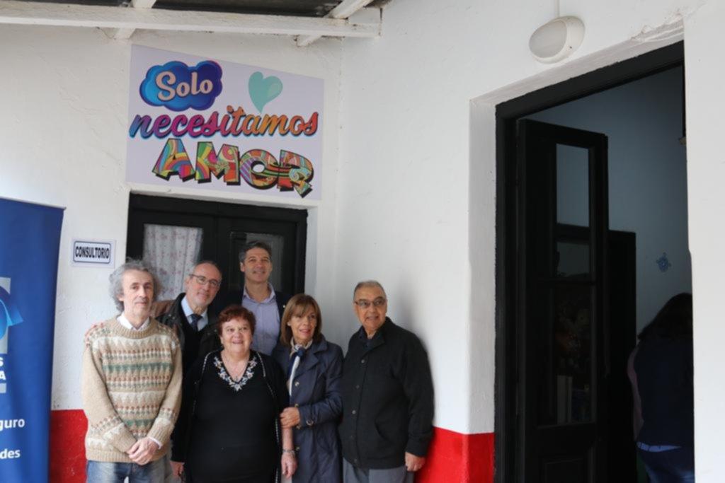 Renovaron el consultorio pediátrico solidario de Romero