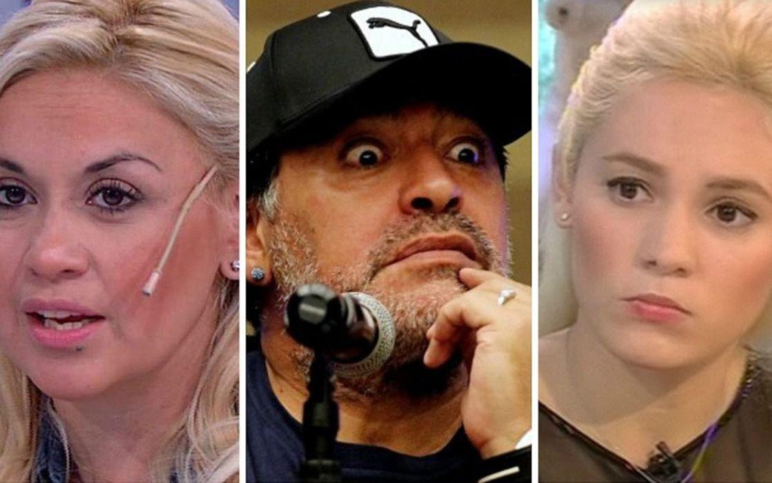 Otro escándalo para Maradona: Verónica descubrió mensajes de Diego con Rocío