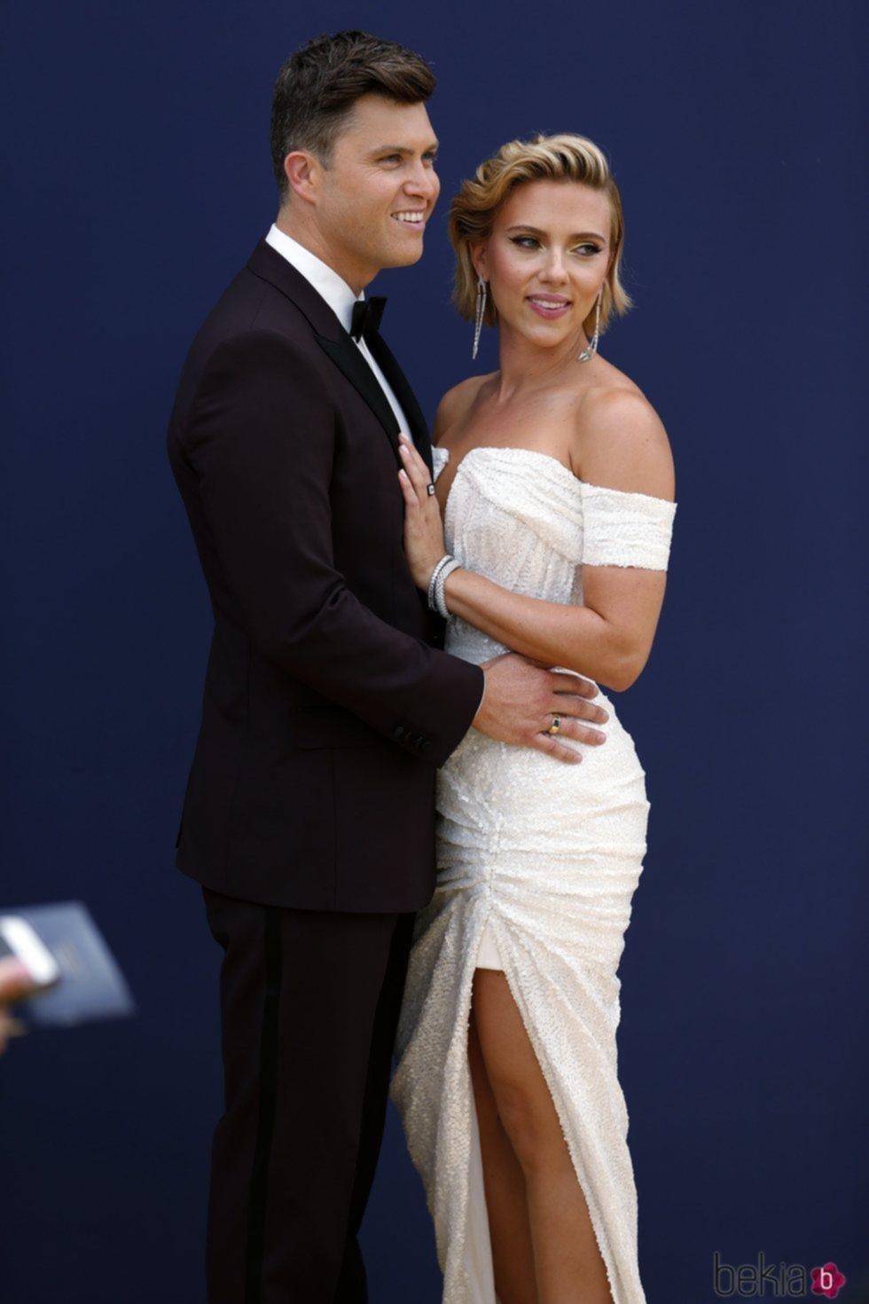 Scarlett Johansson se casa con Colin Jost tras dos años de noviazgo