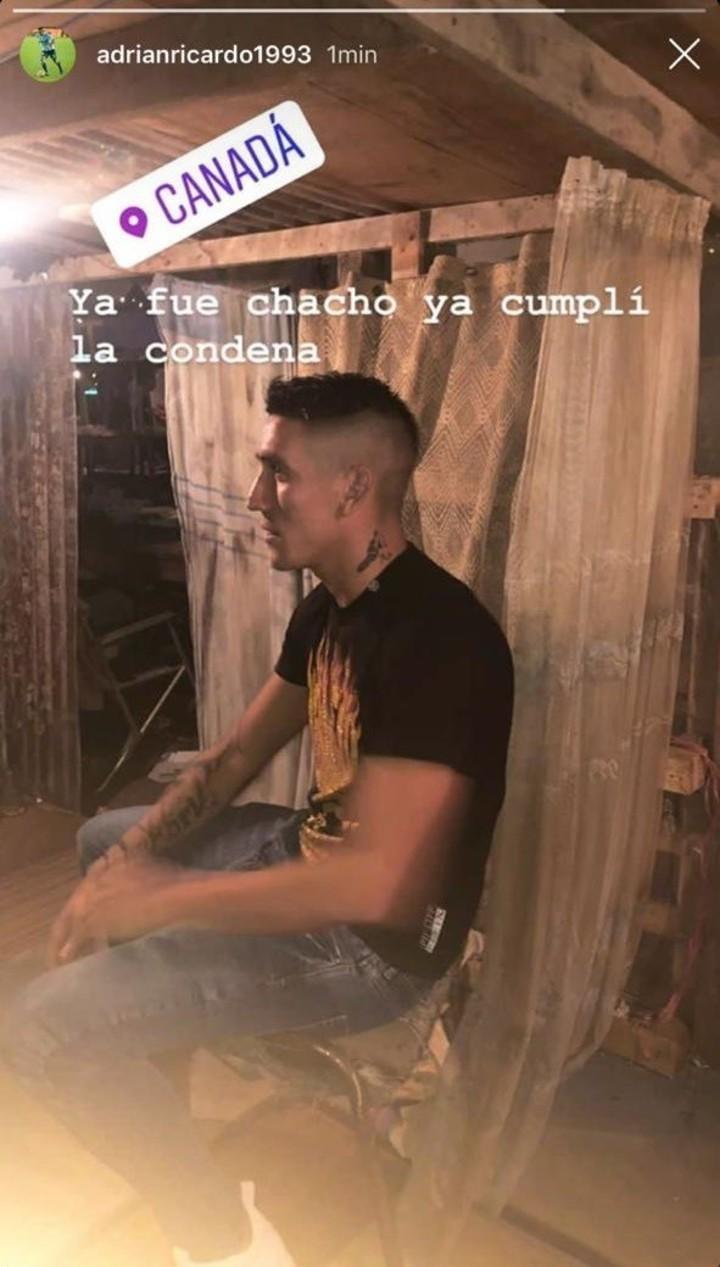 """Ya fue Chacho, ya cumplí la condena"""