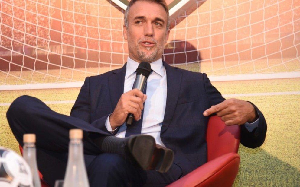 Gabriel Batistuta está a punto de debutar como director técnico