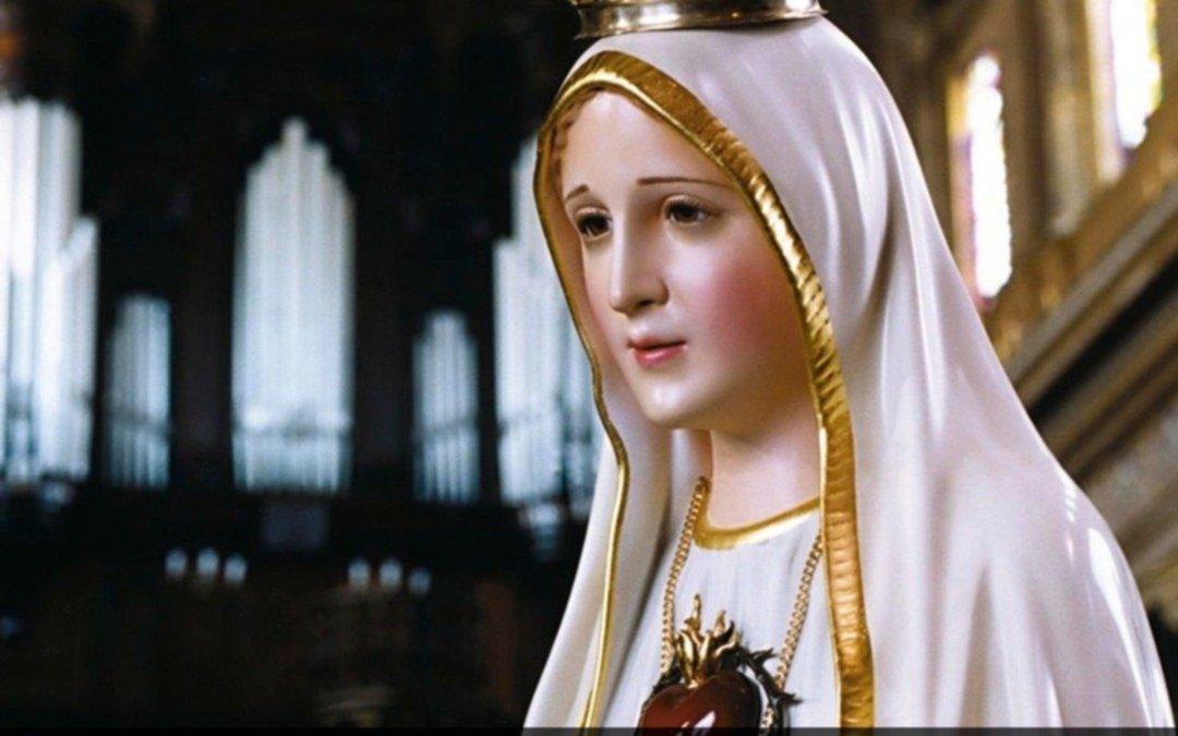 Expectativa por la llegada a la Ciudad de la imagen de la Virgen de Fátima