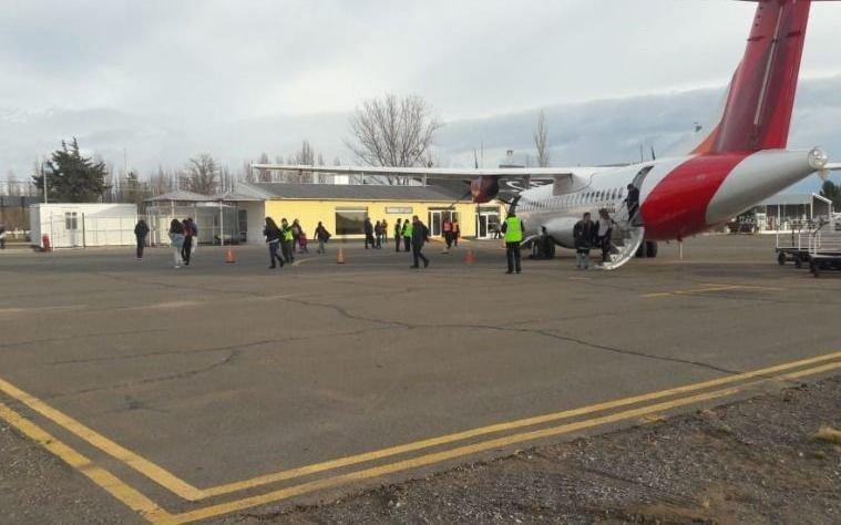Mantienen operable el Aeropuerto de Malargüe a pesar de las nevadas