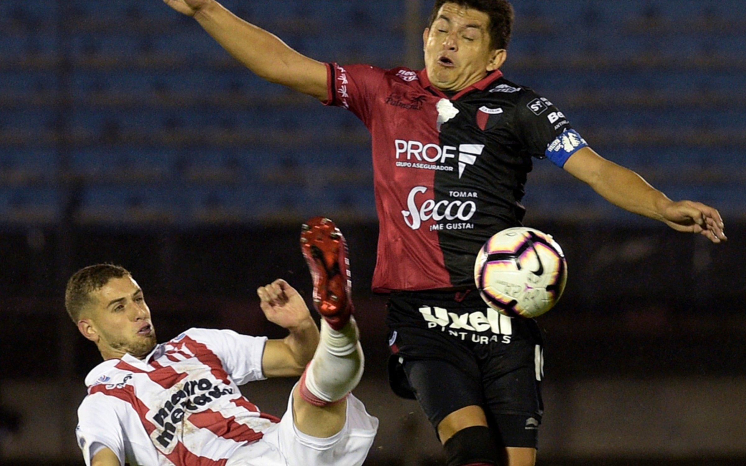 Copa Sudamericana: Colón logró un buen empate ante River de Uruguay