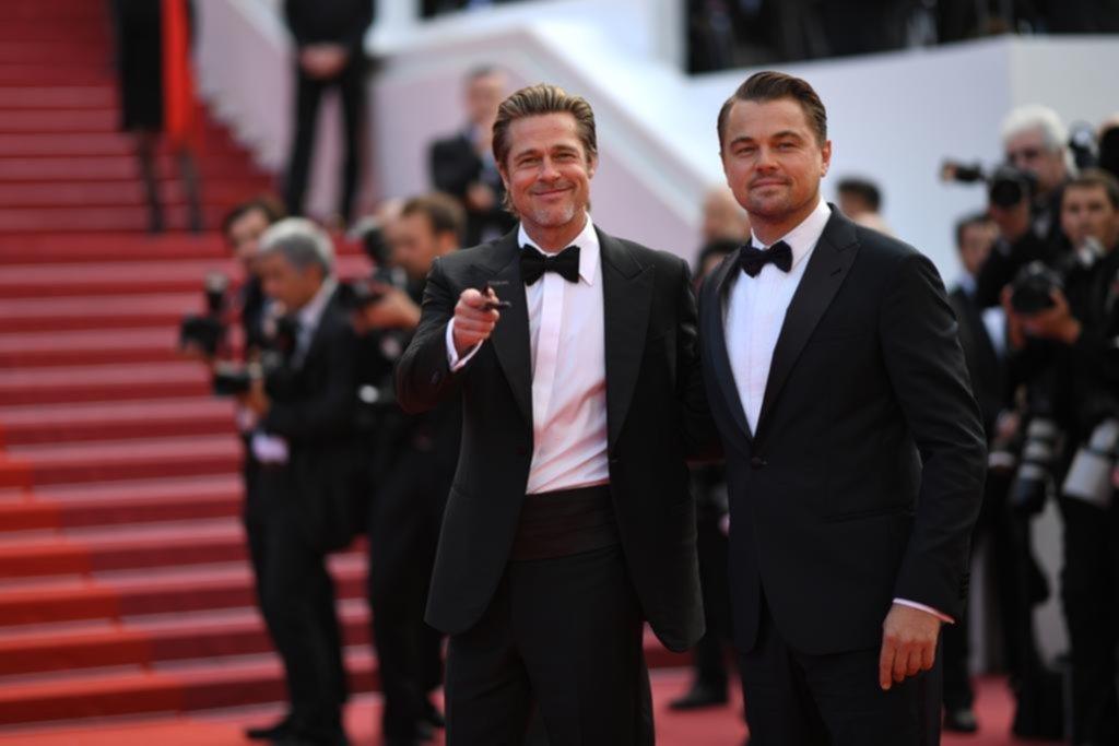 Leonardo DiCaprio y Brad Pitt: duelo de galanes en la alfombra roja de Cannes