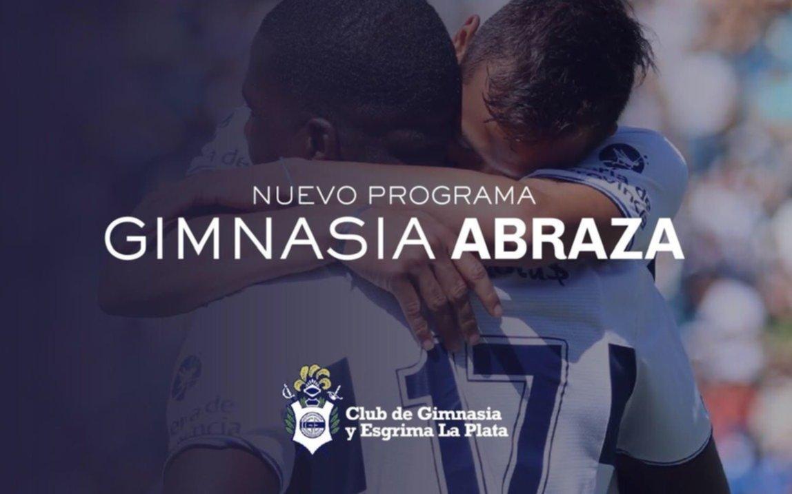 """""""Gimnasia Abraza"""", la nueva campaña social del Lobo"""