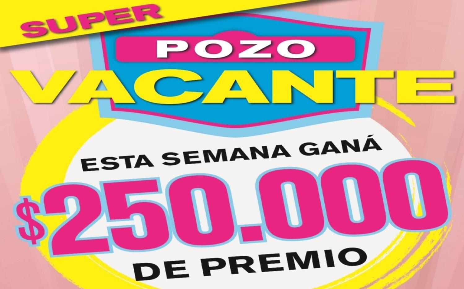 El Cartonazo quedó vacante y ahora se pone en juego un cuarto de millón de pesos
