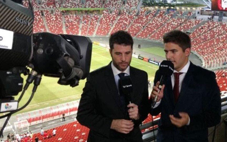 Un relator de fútbol a punto de asumir como DT en un club argentino
