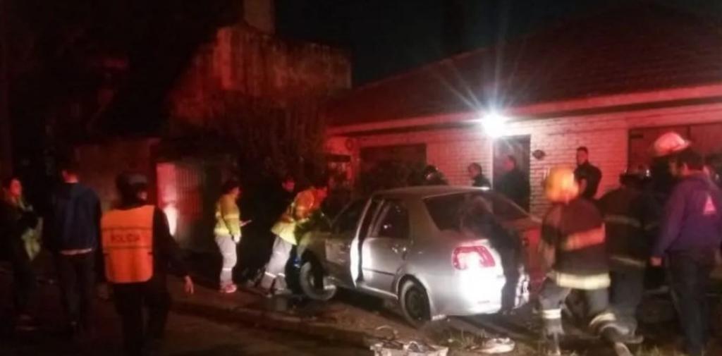Adrogué: automovilista vio a un motochorro en acción y lo atropelló