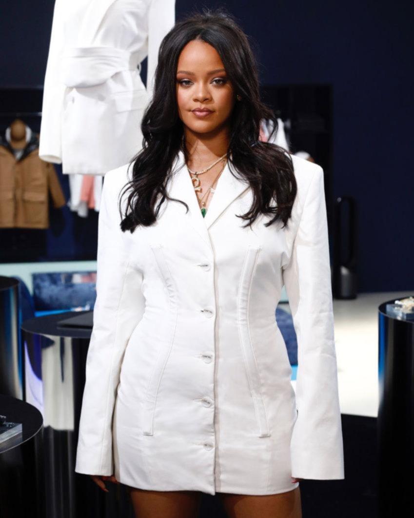 Con la música no alcanza... La capital de la moda, rendida a los pies de Rihanna