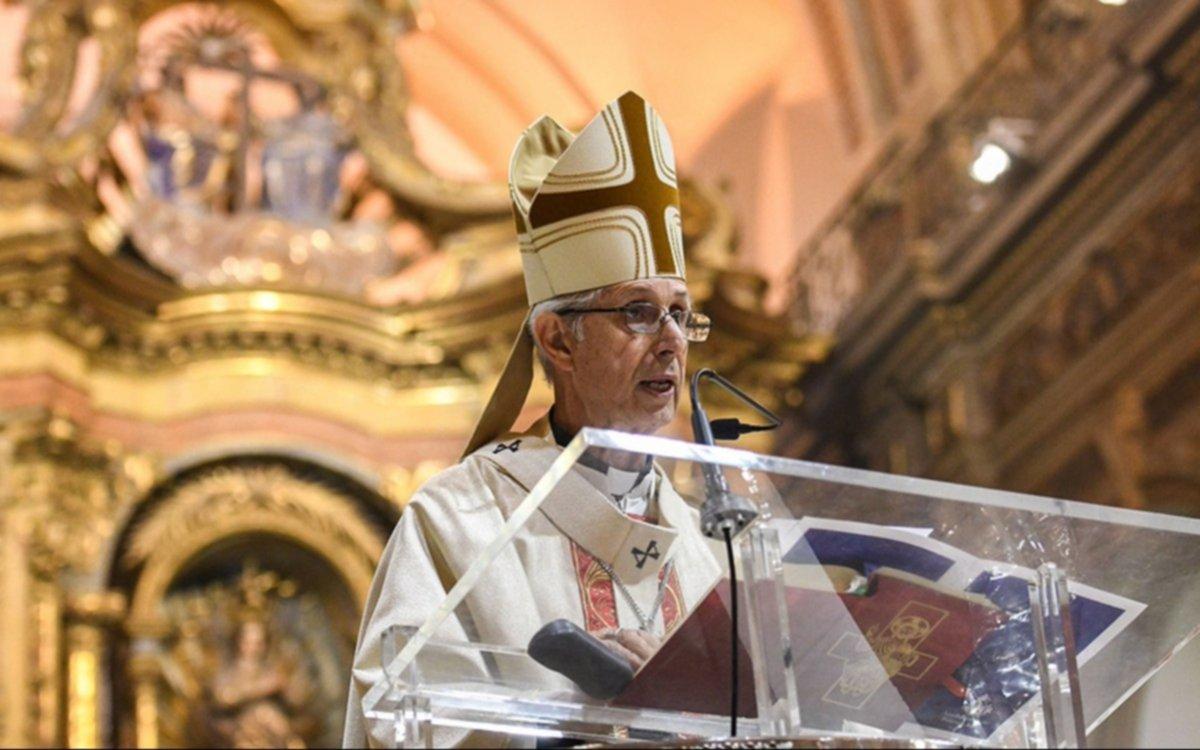 """En el Tedeum por la Revolución de Mayo, el cardenal Poli pidió """"ir a un gran pacto nacional"""""""