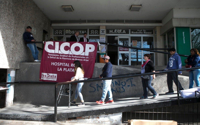 La CICOP decidió convocar a paros en los hospitales bonaerenses por paritarias