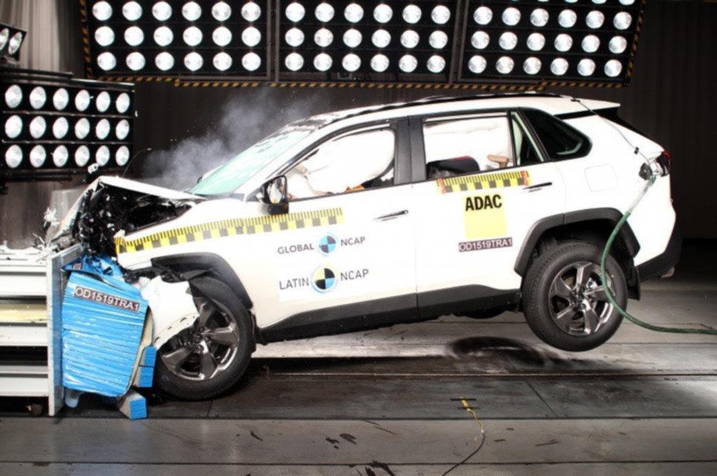La RAV4 de Toyota logró el puntaje máximo en seguridad