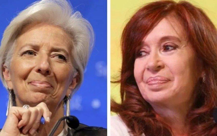 Lagarde sobre Cristina Kirchner: