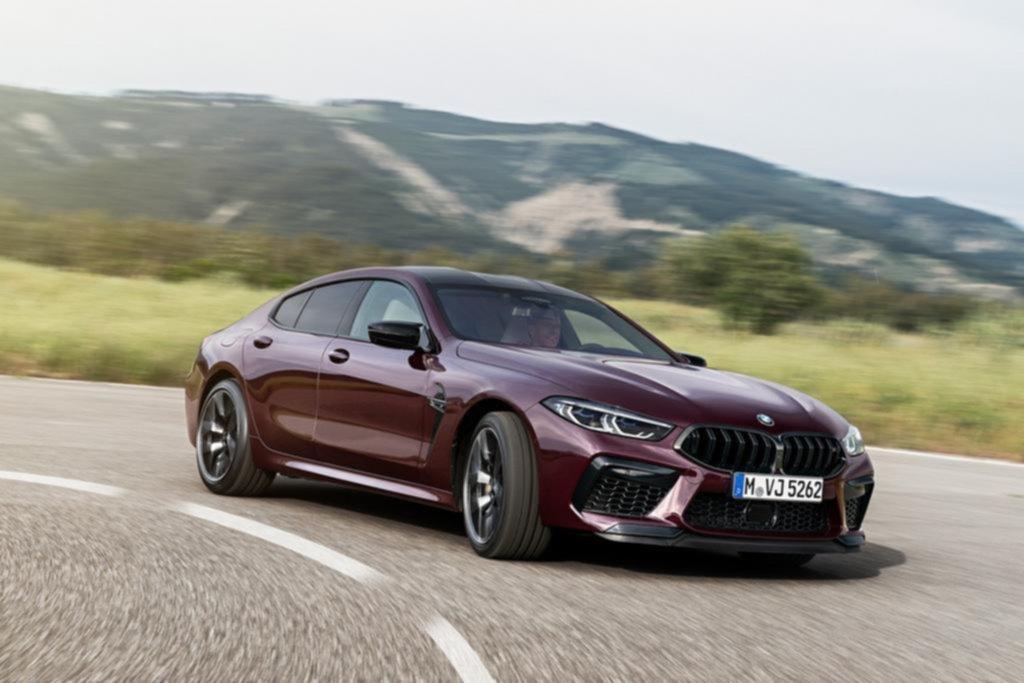 BMW M8 Gran Coupé, el deportivo 4 puertas