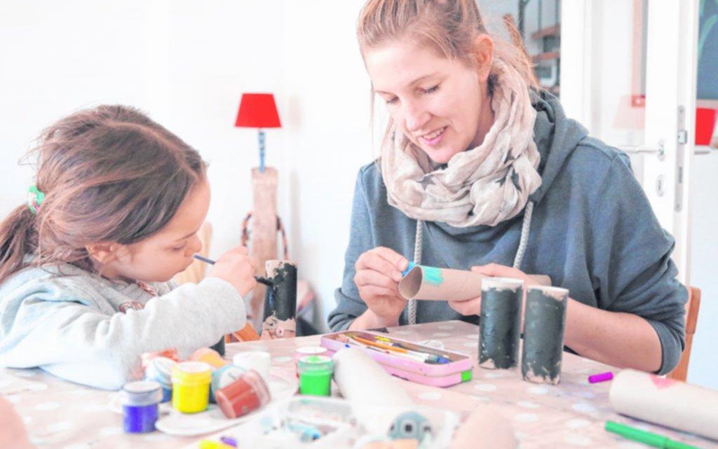 Pequeños artesanos: ideas para jugar con los chicos