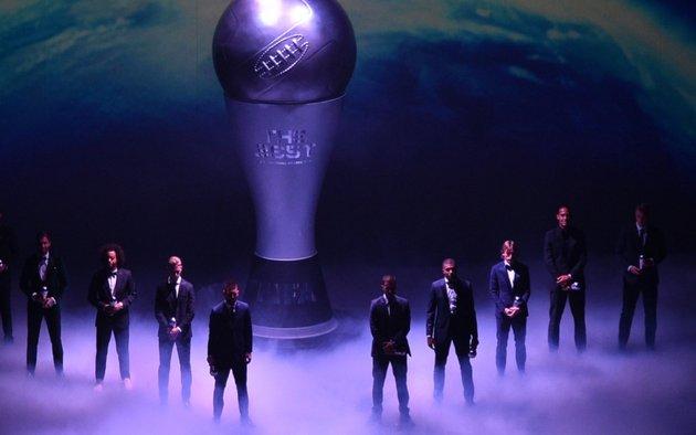 """Suspenden la entrega de premios """"The Best"""" dada por la FIFA"""