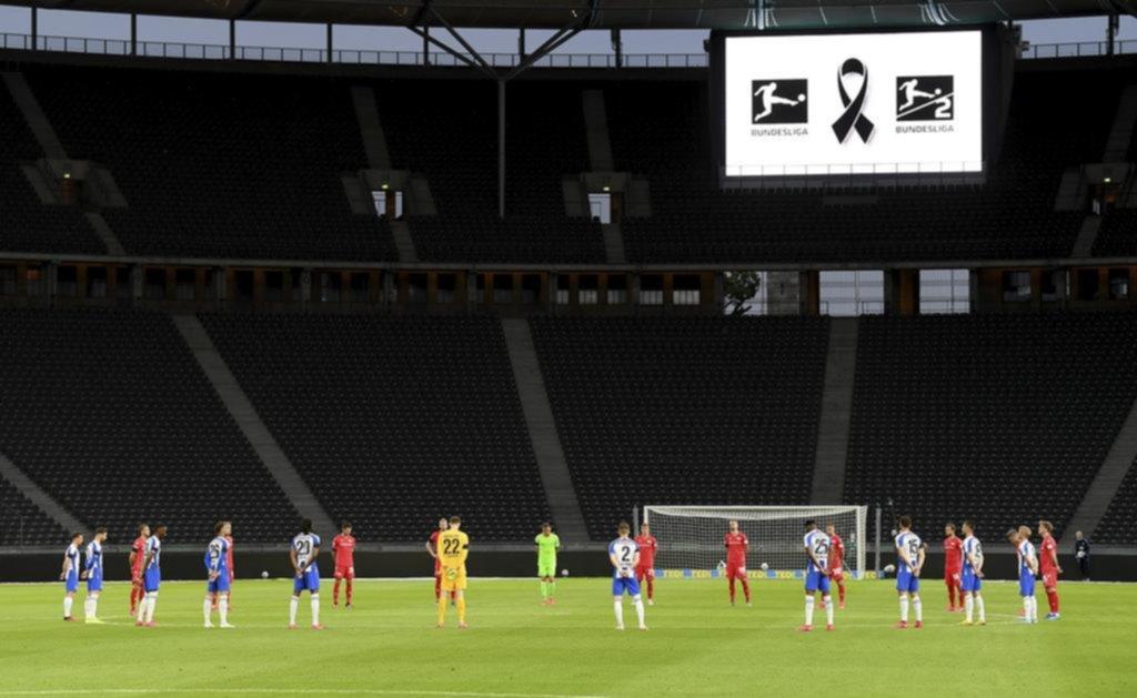 """Hertha Berlín se adueñó de un clásico que estuvo marcado por el """"silencio"""""""