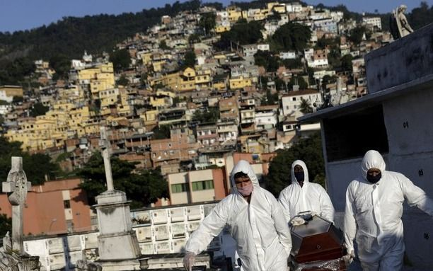 Brasil supera los 330.000 casos de coronavirus y es segundo país más afectado del mundo