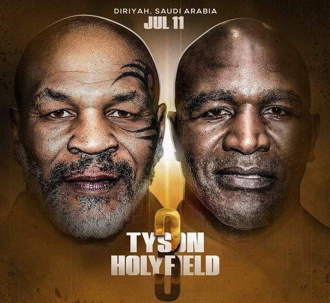 Holyfield no descarta volver a pelear con Tyson pero le pone una condición