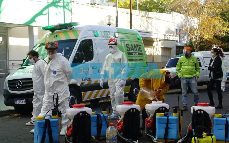 Salto de contagios en La Plata con una beba de 7 meses y un nene de 5 años entre los infectados