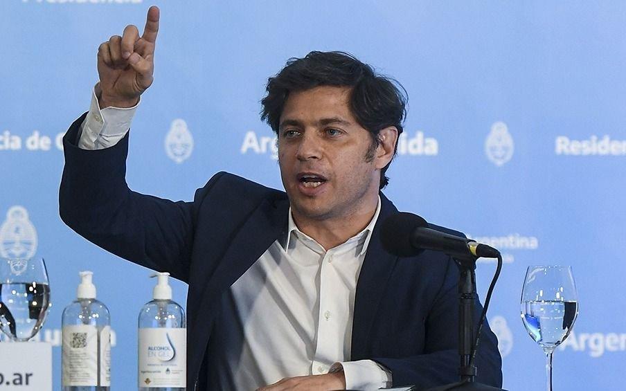 """Kiciloff dijo que sus críticas al gobierno de Vidal """"no eran para polemizar"""""""