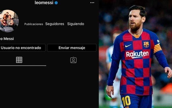La misteriosa desaparición de Messi en Instagram que produjo todo tipo de comentarios