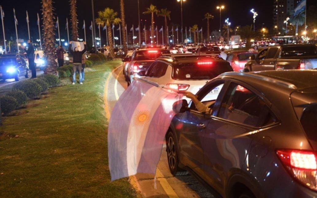 Protesta anticuarentena en Tigre: el intendente advirtió que tienen filmados a quienes se manifestaron