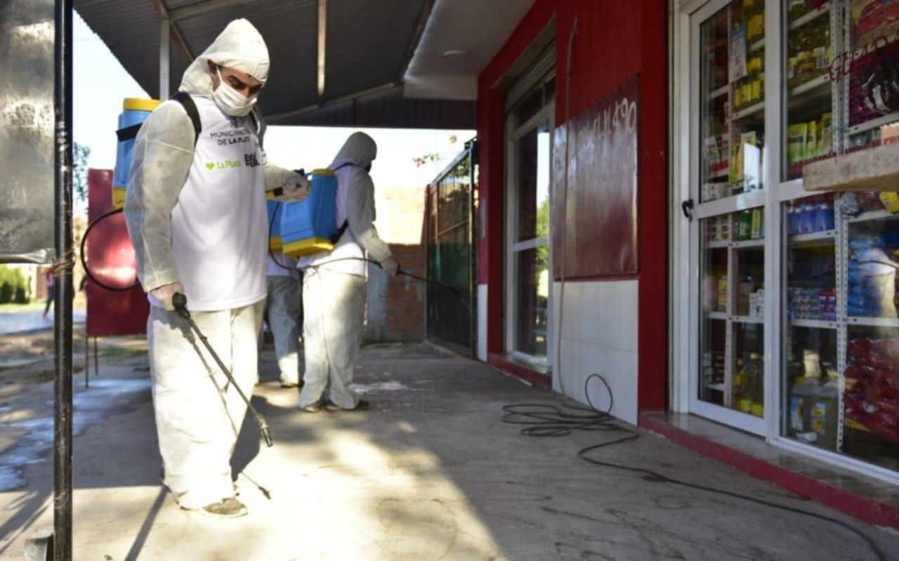 Récord de contagios en La Plata en un día: 16 nuevos y por eso la cifra aumentó a 130