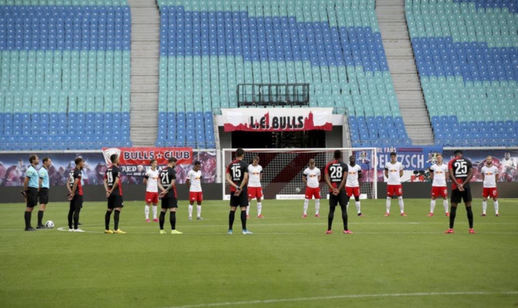 Bundesliga: en pleno silencio, Leipzig no pudo con el Hertha Berlin y no logró ser escolta