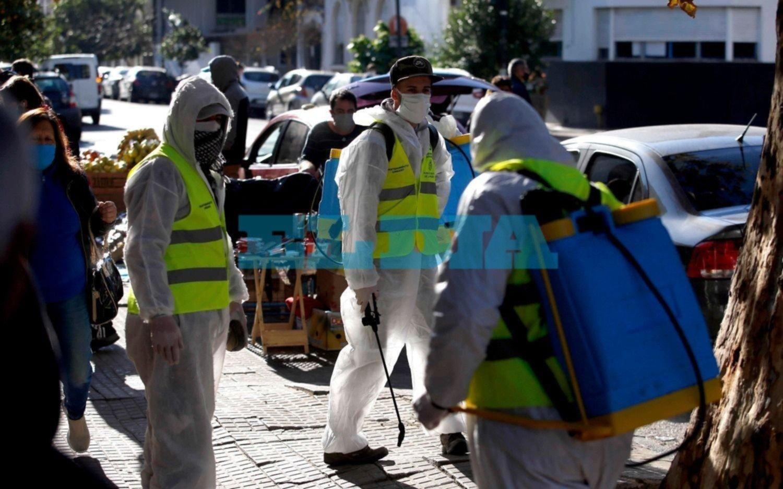 En La Plata, un muerto y nueve contagios nuevos de coronavirus